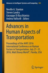 Omslag - Advances in Human Aspects of Transportation 2016