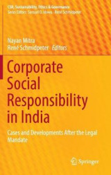 Omslag - Corporate Social Responsibility in India 2016