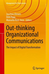 Omslag - Outthinking Organisational Communications 2017