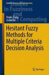 Omslag - Hesitant Fuzzy Methods for Multiple Criteria Decision Analysis 2017
