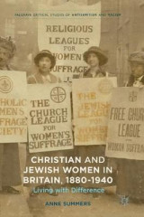 Omslag - Christian and Jewish Women in Britain, 1880-1940 2017