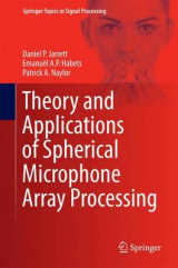 Omslag - Theory and Applications of Spherical Microphone Array Processing