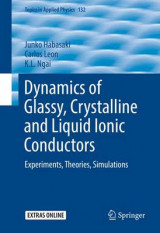Omslag - Dynamics of Glassy, Crystalline and Liquid Ionic Conductors 2017