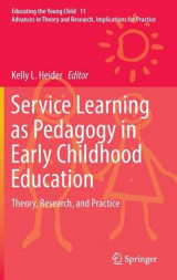 Omslag - Service Learning as Pedagogy in Early Childhood Education 2017