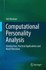 Omslag - Computational Personality Analysis 2016