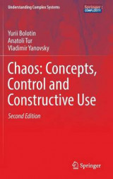 Omslag - Chaos: Concepts, Control and Constructive Use 2017