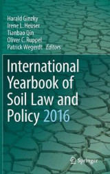 Omslag - International Yearbook of Soil Law and Policy 2016