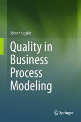 Omslag - Quality in Business Process Modeling 2017