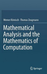 Omslag - Mathematical Analysis and the Mathematics of Computation 2016