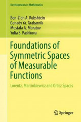 Omslag - Foundations of Symmetric Spaces of Measurable Functions 2017