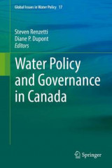 Omslag - Water Policy and Governance in Canada 2017