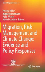 Omslag - Migration, Risk Management and Climate Change: Evidence and Policy Responses 2016