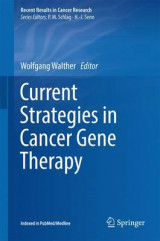 Omslag - Current Strategies in Cancer Gene Therapy