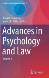 Omslag - Advances in Psychology and Law 2017: Volume 2