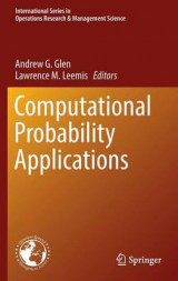 Omslag - Computational Probability Applications