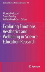 Omslag - Exploring Emotions, Aesthetics and Wellbeing in Science Education Research