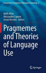 Omslag - Pragmemes and Theories of Language Use 2016