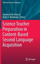 Omslag - Science Teacher Preparation in Content-Based Second Language Acquisition