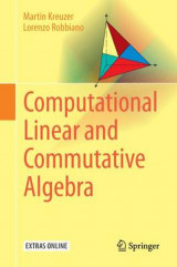 Omslag - Computational Linear and Commutative Algebra