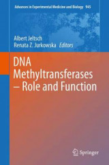 Omslag - DNA Methyltransferases - Role and Function
