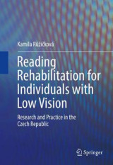 Omslag - Reading Rehabilitation for Individuals with Low Vision