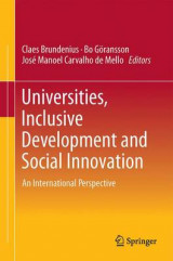 Omslag - Universities, Inclusive Development and Social Innovation