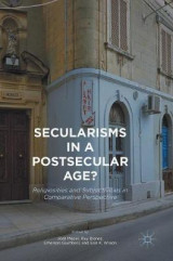 Omslag - Secularisms in a Postsecular Age? 2017