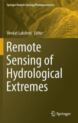 Omslag - Remote Sensing of Hydrological Extremes
