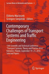 Omslag - Contemporary Challenges of Transport Systems and Traffic Engineering