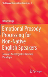Omslag - Emotional Prosody Processing for Non-Native English Speakers