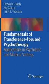 Omslag - Fundamentals of Transference-Focused Psychotherapy 2017