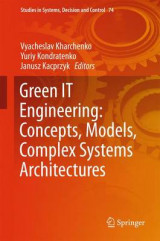 Omslag - Green IT Engineering: Concepts, Models, Complex Systems Architectures 2017