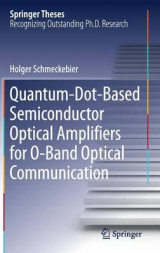 Omslag - Quantum-Dot-Based Semiconductor Optical Amplifiers for O-Band Optical Communication