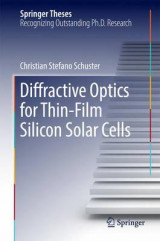 Omslag - Diffractive Optics for Thin-Film Silicon Solar Cells