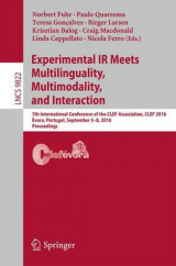 Omslag - Experimental IR Meets Multilinguality, Multimodality, and Interaction 2016