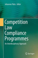 Omslag - Competition Law Compliance Programmes 2017