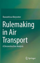 Omslag - Rulemaking in Air Transport