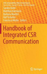 Omslag - Handbook of Integrated CSR Communication 2017