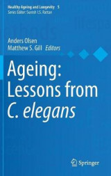 Omslag - Ageing: Lessons from C. Elegans 2016