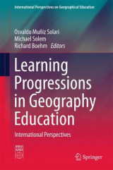 Omslag - Learning Progressions in Geography Education