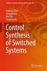Omslag - Control Synthesis of Switched Systems