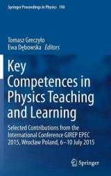Omslag - Key Competences in Physics Teaching and Learning 2017