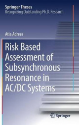 Omslag - Risk Based Assessment of Subsynchronous Resonance in AC/DC Systems