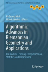 Omslag - Algorithmic Advances in Riemannian Geometry and Applications 2016