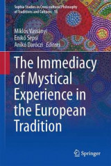 Omslag - The Immediacy of Mystical Experience in the European Tradition 2016