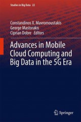 Omslag - Advances in Mobile Cloud Computing and Big Data in the 5G Era 2017
