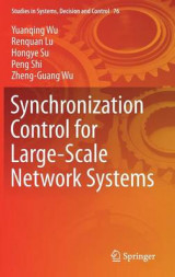 Omslag - Synchronization Control for Large-Scale Network Systems