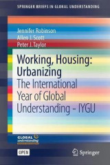 Omslag - Working, Housing, Urbanizing 2017