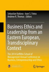 Omslag - Business Ethics and Leadership from an Eastern European, Transdisciplinary Context