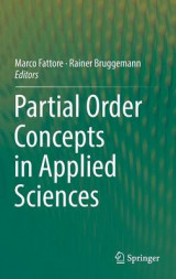 Omslag - Partial Order Concepts in Applied Sciences